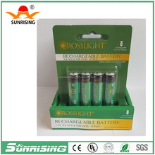 Sunrising nicd battery cell wide temperature 1.2v batteries AA/AAA/SC/C/D/ 2/3AA /2/3AAA Rechargeable 1.2V 100mAh-5000mAh