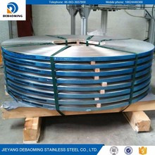 wholesale food grade customized 201 304 stainless steel strips/coils/foils