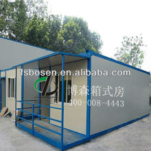 House Container 15FT Prefab Container Home Office/ CE Certificated Container House/20FT Steel structure modular homes