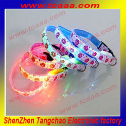 Eco-Friendly LED Dog Collar CE, ROHS Certificates Approved