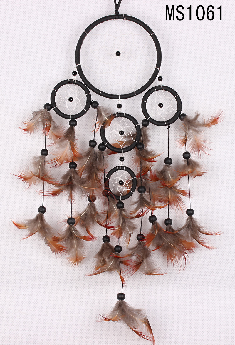 pheasant feather dream catchers MS1061
