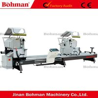 UPVC Double Mitre Saw PVC Windows Doors Fabricating Machine