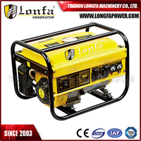 Gasoline Generator 5.5HP Portable Generator 1500w Air-cooled Gasoline Generator Set