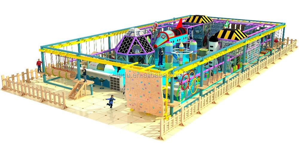 China direct factory high quality 2019 Indoor Soft Play Area