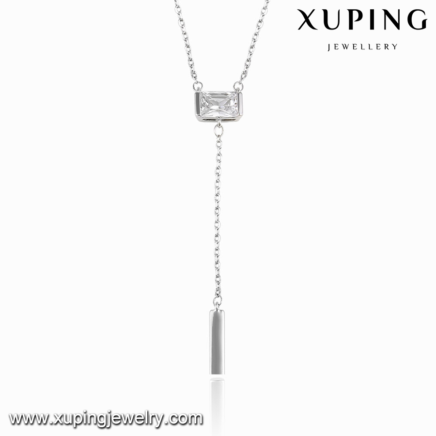 00110 XUPING fashion accessories for women stone necklace,european style necklace