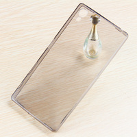 New Products clear Transparent tpu cell phone case for Xperia Z5 mini , Z5 phone cover