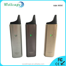 Top quality 3000mAh temperature control vax mini dry herb electronic vaporizer pipe
