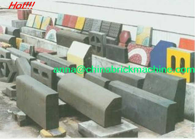 block moulding machine curbing machine