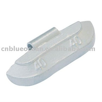 Lead (pb) clip on wheel weight BOCL 01