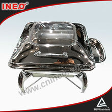 Induction Roll Top Stainless Steel Electric Chafing Dish Wholesale