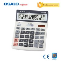 wholesale new arrival OS-6612C 112 Step check correct calculator with solar funtion