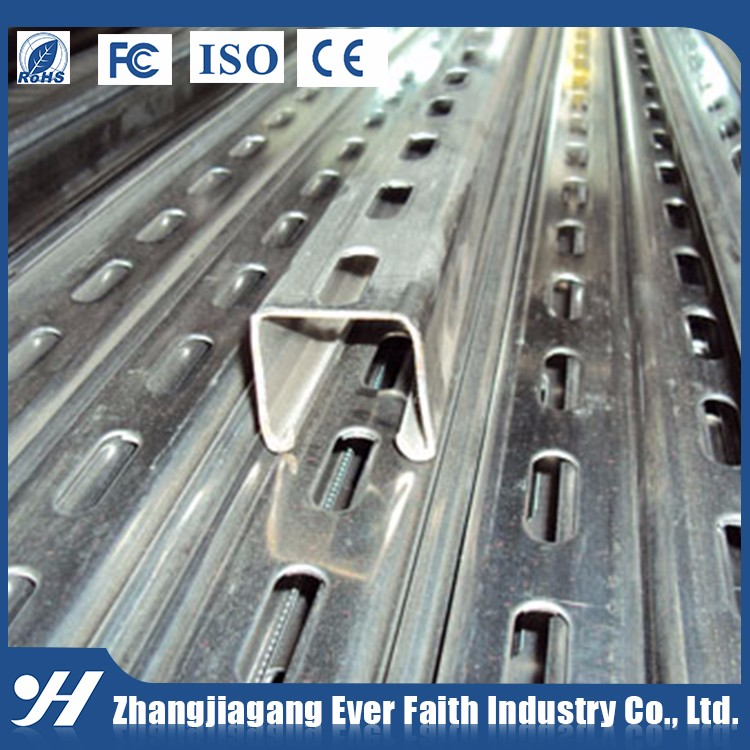 Hot Sale Low Price Slotted Perforated Stainless Steel Channel Section
