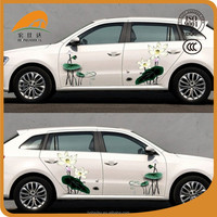 pvc self adhesive vinyl fabric for car sticker