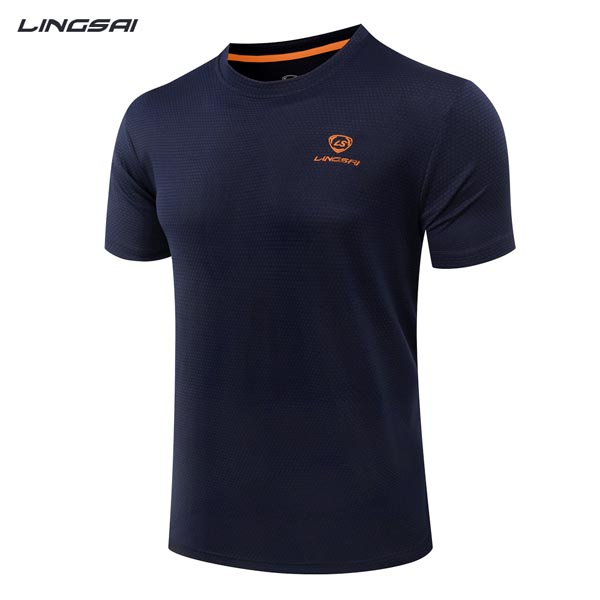 2017 Quick-drying breathable mens gym wear,fitness t shirt,men's t shirt
