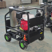 Gasoline used hot portable water pressure washers for sale
