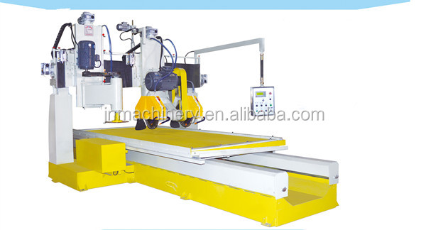 Vertical and horizontal stone cutting machine