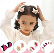 S90023A Cute rabbit ears child headdress to card, beautiful hairpins