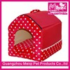 New design soft canopy dog beds durable house shaped dog house