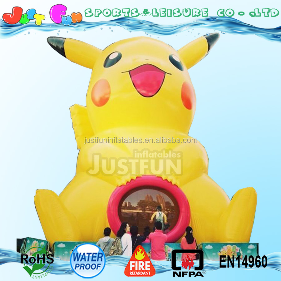 pokemon advertising inflatable figure customized shape