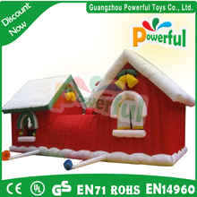 new year outdoor inflatable snowman,christmas fashion inflatable decorate