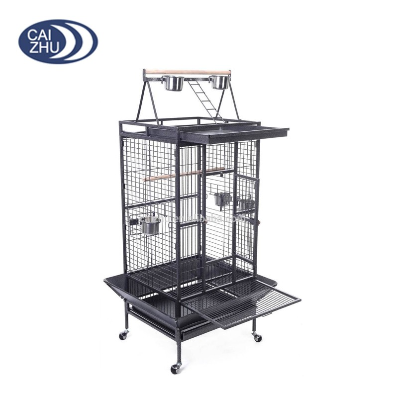 There pulleys Stainless steel large canary bird cages