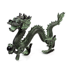 Traditional Bronze Chinese Dragon Statue