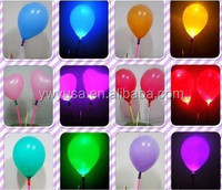 Top Quality big colorful led air balloon led illuminate advertising balloon Custom Led Light Balloons with switches