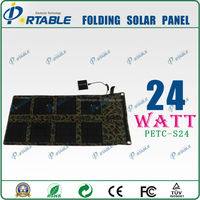 24W solar charger pad for tablet pc | mobile phone