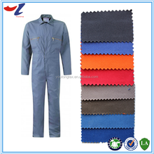 fabrics textiles 100% cotton flame retardant coveralls/twill fabric for safety clothing
