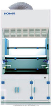 PP Fume Hood/Laboratory fume hood/ventilation fume cupboard with build-in axial flow blower made of porcelain PP