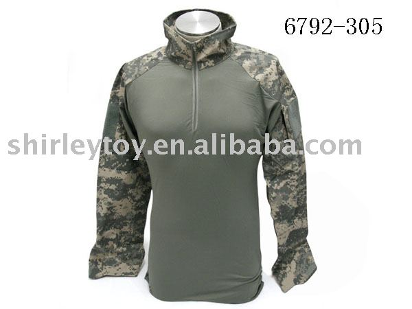 air soft ACU tight-fitting jacket