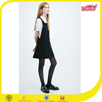 New material interior fashion design lady frock dress cotton design for college girl