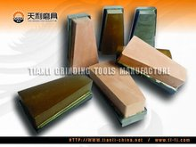 L140 magnesite bond polsihing brick, L140 polishing block