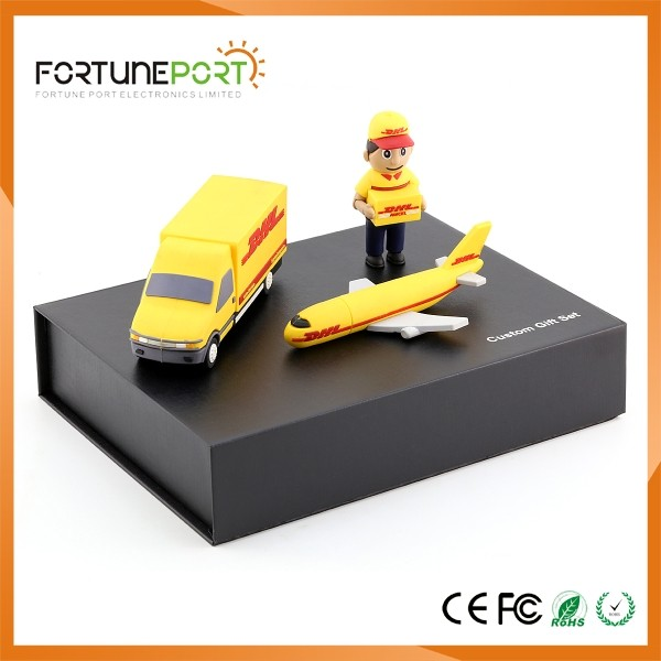 Fortune Port great fashionable travel gifts,promotional business gift set 2600mah power charger