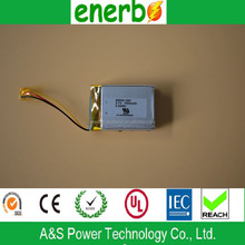 603040 rechargeable battery 1500mAh 3.7V 1S2P with high quality hot sale