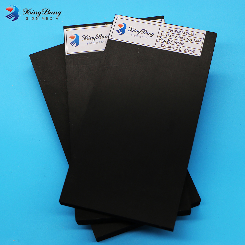 High Quality Cheap Prices Laminated Polystyrene Black PVC Sheet Price