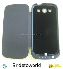 External battery case rechargeable power case external power pack for samsung galaxy s3 i9300