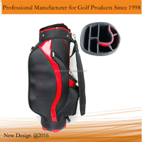 Black 600D Nylon Golf Bag