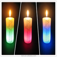 LED electrical religious votive paraffin wax candles
