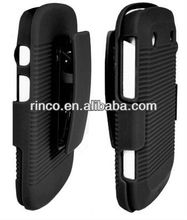 Belt Clip Shell Holster Hybrid Case+Stand for Blackberry Bold 9900 9930