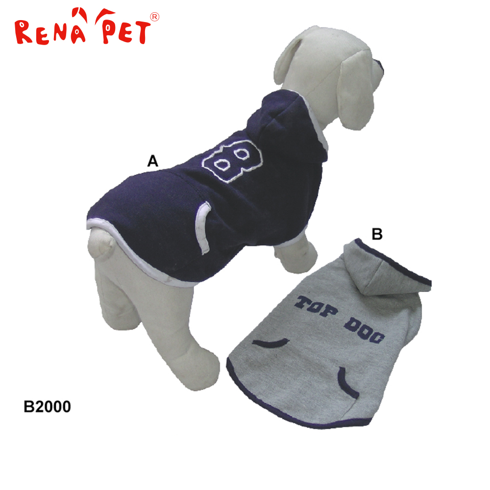 China Largest wholesale pet dog clothes factory made pretty warm designer