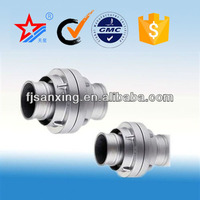 Fire-fighting fittings,Aluminum Germany hose connector DN50 flexible hose couplings