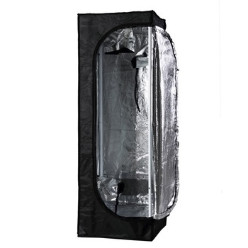 "Orientrise 40x40x120cm Mylar Hydroponic Grow Tent for Indoor Plant Growing (16""x16""x48"")"
