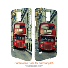 3D Blank Sublimation Phone Case for Samsung Galaxy S5
