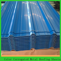 lowes corrugated metal roof color/ zinc coated sheet made in china