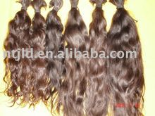 Brazilian Virgin Remy human hair bulk/braid/raw hair/natural color remy hair