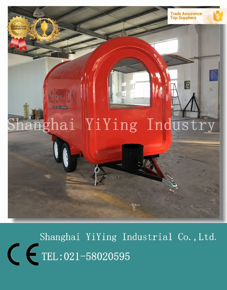 YY-FR300 CE Distinctively design food truck coffee kiosks for sale malaysia chinese vans