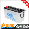 KING POWER Rechargeable Lead Acid Dry Charge Auto battery 12V100AH N100