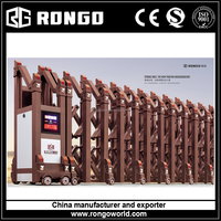 automatic steel sliding gate with motors for malaysia