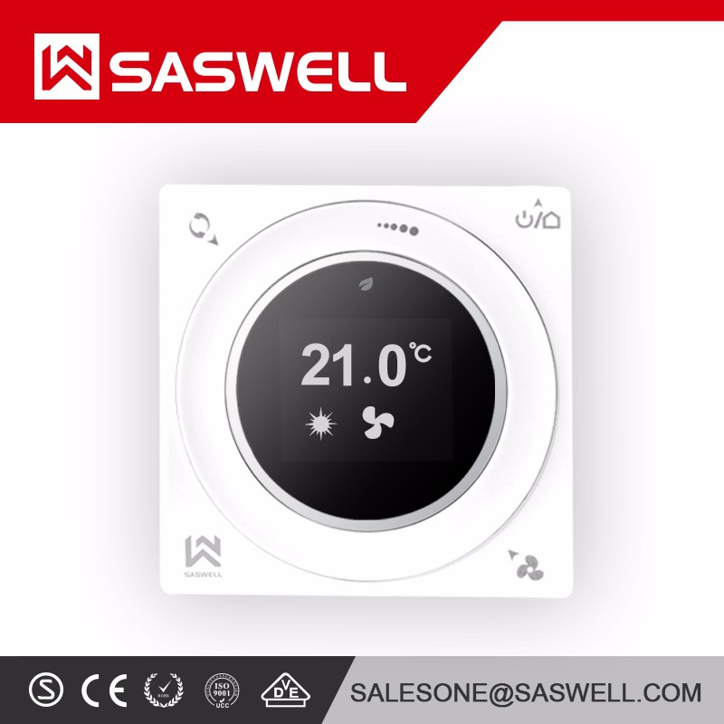 Temperature Controller Heat Cool Backlit Screen Wifi 7 Day Programmable Thermostat